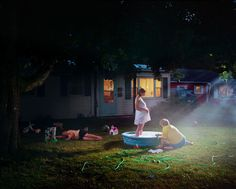 Bid now on Untitled (Pregnant woman/pool) by Gregory Crewdson. View a wide Variety of artworks by Gregory Crewdson, now available for sale on artnet Auctions. Edward Hopper, Narrative Photography, Cinematic Photography, Art Photography, Photography Gallery, Fashion Photography, Diane Arbus, James Casebere, James Turell
