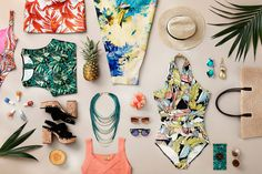 Holidays #summer #holidays #hm #palms #sun #sunny #fashion #tropical