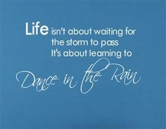2313 Dance In The Rain Wall Tattoo Removable Wall Quote 3D House Decor Viny Decals^White *** For more information, visit image link.