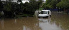 Πλημμύρες σε Κοζάνη, χαλάζι σε Ιωάννινα