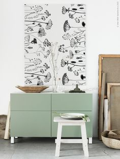 Lovely soft colors and details in your interiors. Latest Home Interior Trends. Ikea Inspiration, Ikea Plants, European Home Decor, Ikea Storage, Interior Decorating, Interior Design, Contemporary Decor, Living Room Interior, Decoration