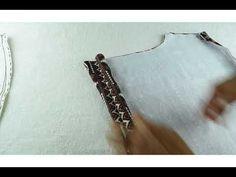 COMO HACER SHORT O PANTALON CORTO PARA NIÑAS - Tutoriales de costura paso a paso Estilo Real, Pajamas, Sewing, Bracelets, Youtube, Silver, Baby, Jewelry, Fashion