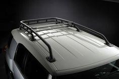 Toyota FJ Cruiser OEM Style Black Roof Rack: Fits 2007, 2008, 2009, 2010, 2011, 2012, 2013 and 2014 FJ Cruiser