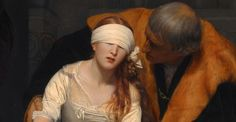 Welcome To The Atrocity Exhibition — The Execution of Lady Jane Grey 1833, Paul...