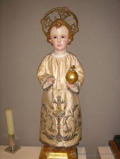 NIÑO JESUS DE GRAN TAMAÑO (Arte - Arte Religioso - Escultura)