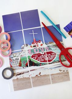 How I Resize Photos for My Scrapbooks | A Beautiful Mess | Bloglovin'