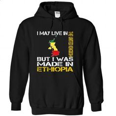I May Live in the United Kingdom But I Was Made in Ethi - #lace tee #sweater tejidos. MORE INFO => https://www.sunfrog.com/States/I-May-Live-in-the-United-Kingdom-But-I-Was-Made-in-Ethiopia-tfiaorueoi-Black-Hoodie.html?68278