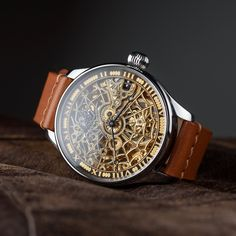 fossil skeleton watches for men Vintage Watches For Men, Antique Watches, Luxury Watches For Men, Vintage Men, Mens Skeleton Watch, Skeleton Watches, Swiss Made Watches, Luxury Watch Brands, Fashion Watches