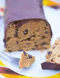 Cookie Dough Kuchen ohne Backen