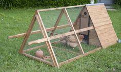 Construir un gallinero móvil