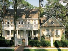 i love colonial style.