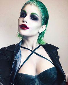 Female Joker Makeup | cosplay | gender bent joker | Gotham villains, batman #joker