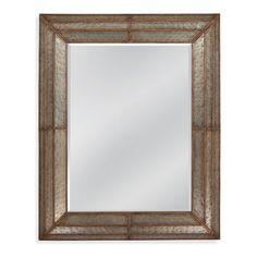Found it at Wayfair - Levi Hammered Iron Mirror