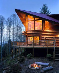 Log Homes On Pinterest Log Homes Log Cabins And Cabin