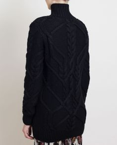 DRIES VAN NOTEN | Jimjam Oversized Cable Knit Jumper | Browns fashion & designer clothes & clothing