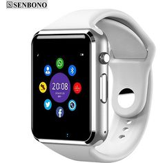 Cheap watch phone, Buy Quality support sim directly from China smart Suppliers: Smart watch Bluetooth Clock Support SIM TF Card Pedometer Anti-lost Watch Phone for iOS Android iphone xiaomi Top 10 Gadgets, Cool Gadgets, Camera Watch, Camera Gear, Camera Tips, Retro Video Games, Wearable Device, Electronic Gifts
