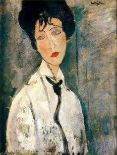 '0' von Amedeo Modigliani (1884-1920, Italy)