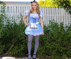 Halloween Costume Idea: Alice and Wonderland