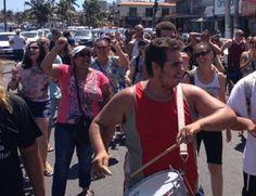 CIDADE: Manifestação de Servidores Municipais de Cabo Frio...