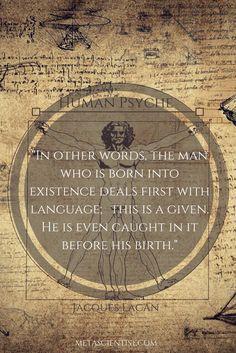 Jacques Lacan - Human Psyche
