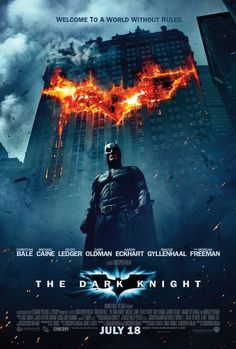 THE DARK KNIGHT - WELCOME TO A WORLD WITHOUT RULES -