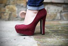 #fashion #shoes piedi donna scarpe con tacco