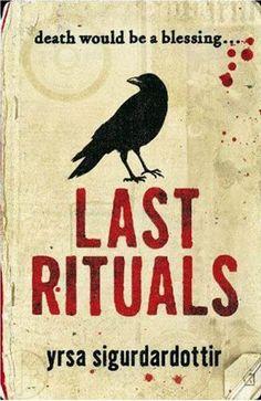 Review - Last Rituals by Yrsa Sigurdardottir