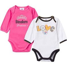 Gerber Childrenswear Pittsburgh Steelers Two-Piece Bodysuit Set - Infant 9db7c2ca0