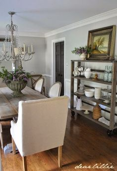 Our Home  by Dear Lillie - Walls: Gray Owl (75%) by Benjamin Moore