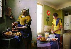"""""""La laitière"""" by Johannes Vermeer Image credits: Justine Rioufrait"""