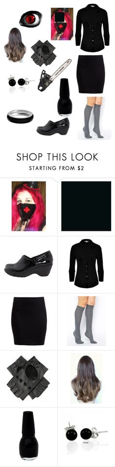 """Creepypasta Nurse Ann Outfit"" by ender1027 ❤ liked on Polyvore featuring Nurse Mates, James Perse, Zalando, ASOS, Craftsman, Bling Jewelry and Croft & Barrow"