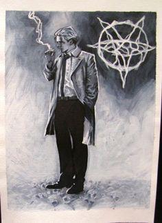 John Higgins - John Constantine (Hellblazer), in RyanWoodforde's My Collection Comic Art Gallery Room - 1096051