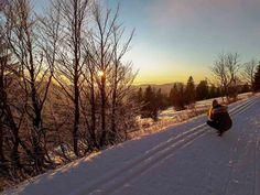 5 der schönsten Ausflugsziele im Schwarzwald im Winter - Familien-Reiseblog Travelsanne Seen In Baden Württemberg, Country Roads, Winter, Black Forest, Road Trip Destinations, Mountains, Families, Vacation, Nice Asses