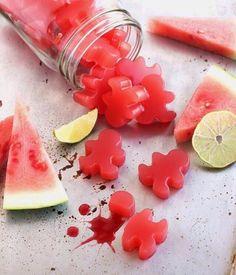 Homemade Juicy Watermelon Gummies