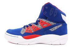 Adidas Mutombo Basketball TRIBAL PRINT Shoes   **RARE**