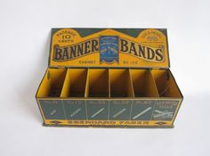 Eberhard Faber Counter Advertising Banner Bands Display Case