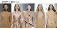 SS13 Fashion Color Trends Coppertone