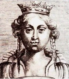Mafalda de Saboya - she married D. Afonso Henriques in 1146 (had 7 children in 12 years, died of labouring). Her son D. Sancho became King of Portugal after his father's death. Ancestry, Medieval, Singing, Death, King, Statue, Feral Cats, Royal Families, Middle