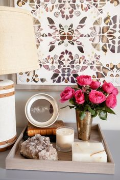 Home Tour: An Event Designer's Perfectly Ladylike Apartment via @domainehome