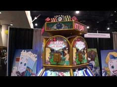 Vegas Sensation Coin Pusher Redemption Arcade Game - BMI Gaming - Jennison