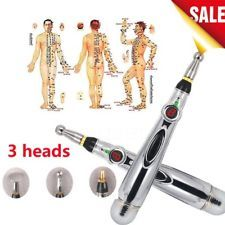 Electronic Pulse Analgesia Pen Acupuncture Point Massage Pen Body Pain Relief GT