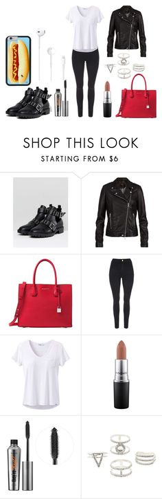 """..."" by raozerova on Polyvore featuring мода, ASOS, SET, Michael Kors, prAna, MAC Cosmetics, Benefit и Charlotte Russe"