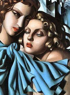 Tamara de Lempicka (1898-1980), Art Deco painter
