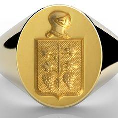 Ring Bear, Wax Seals, Gravure, Signet Ring, Flask, Edilson, Monogram, Rings, Dress Code