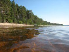 Kuosto island in Oulujärvi, Finland