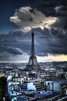 Eifel Tower, Paris, France.