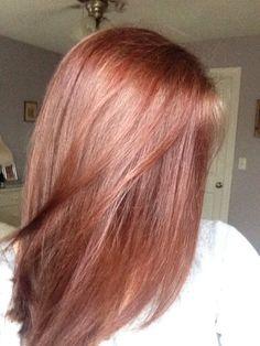 Light Auburn Hair @alexandra_moncada