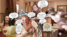 Ha nacido una superfrikistar: Colgadín, la voz de Jehová, del Absoluto, de Jesús y de los aliens