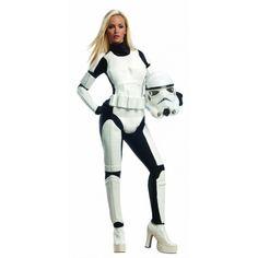 77,99 € IVA incluído http://www.misdisfraces.es/star-wars/disfraz-de-stormtrooper-para-mujer-744