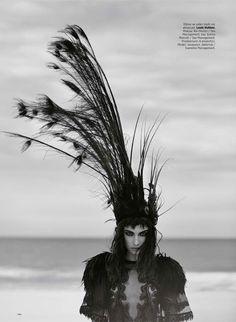 Jacquelyn Jablonski Gets Dark in Louis Vuitton SS14 for Harpers Bazaar Turkey